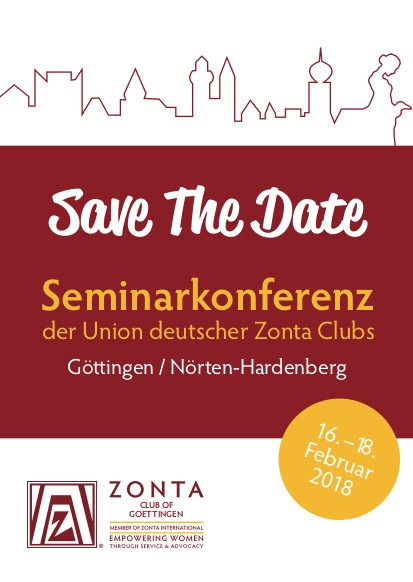 SAFE THE DATE: Seminarkonferenz 16. - 18. Februar 2018